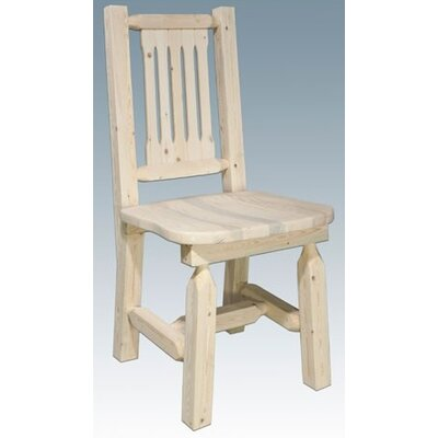 Easy financing Homestead Side Chair Finish: Lacque...