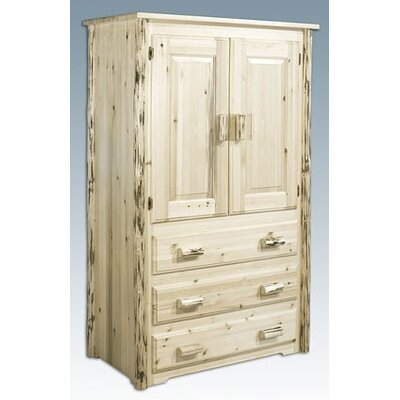 Furniture leasing Montana Armoire Finish: Ready To Fi...