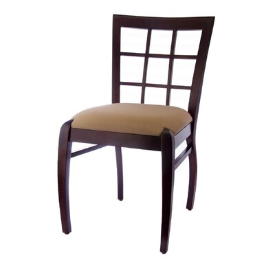No credit check financing Sienna Windowpane Side Chair (Set o...