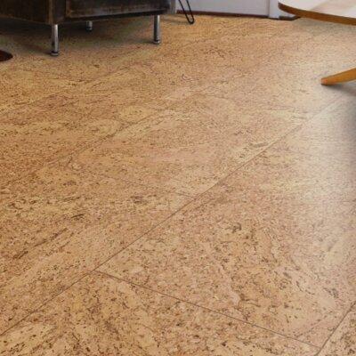 CorkComfort 11-2/3 Cork Hardwood Flooring Panel in Originals Accent