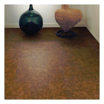 CorkComfort 11-2/3 Cork and Oak Hardwood Flooring in Personality Chestnut