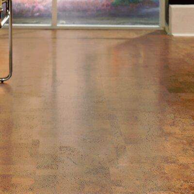 CorkComfort 11-2/3 Cork and Oak Hardwood Flooring in Originals Harmony