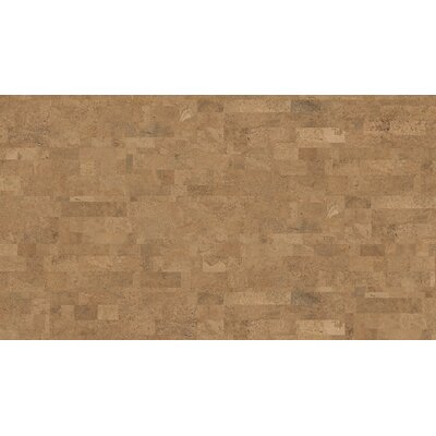 CorkComfort 12 Cork Hardwood Flooring in Originals Harmony