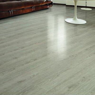 HydroCork 6 x 48 x 6.35mm Luxury Vinyl Plank in Limed Grey Oak