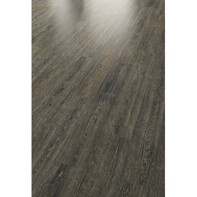 HydroCork 6 x 48 x 6.35mm Luxury Vinyl Plank in Cinder Oak