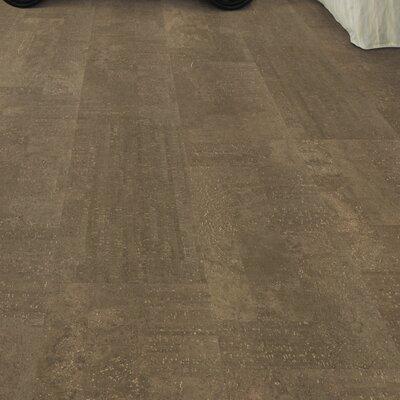 CorkComfort 11-7/11 Cork Hardwood Flooring in Fashionable Machiatto