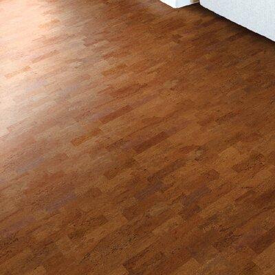 CorkComfort 12 Cork Hardwood Flooring in Identity Chestnut