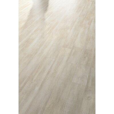 HydroCork 6 x 48 x 6.35mm Luxury Vinyl Plank in Claw Silver Oak