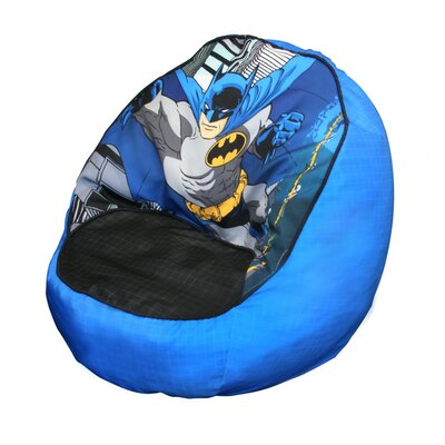 Warner Brothers Bean Bag Chair, Batman