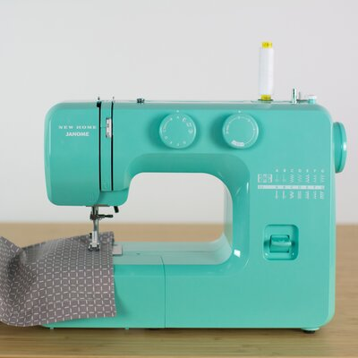 Couture Easy-to-Use Mechanical Sewing Machine Color: Teal 001crystal