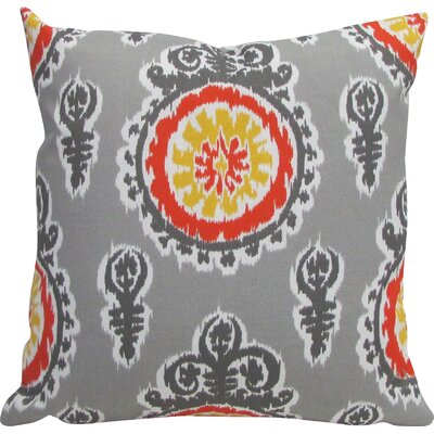 Outdoor Living Throw Pillow (Set of 2) Color: Yellow, Size: 18 x 18