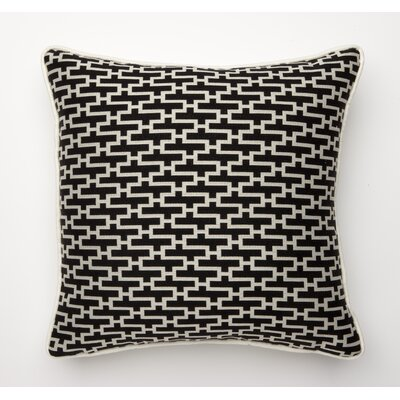 Dream Weave Throw Pillow Color: Black