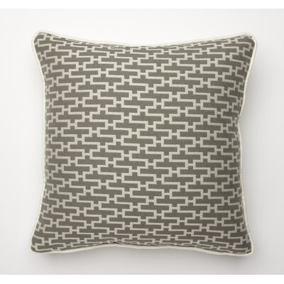 Dream Weave Throw Pillow Color: Grey