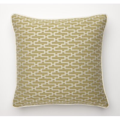 Dream Weave Throw Pillow Color: Key Lime