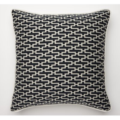 Dream Weave Throw Pillow Color: Navy