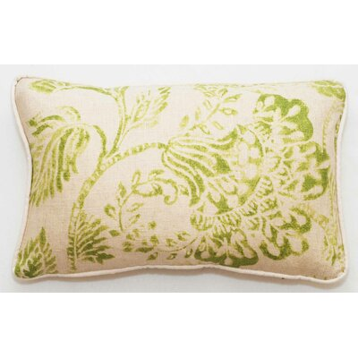 Bal Lumbar Pillow Color: Green Bright