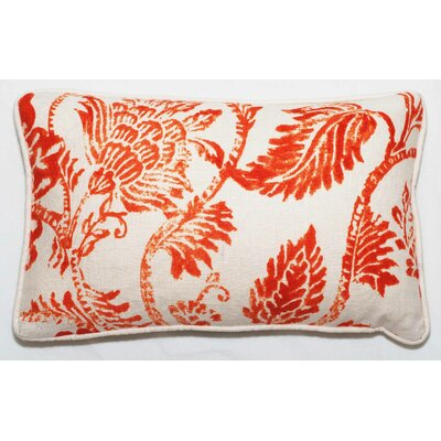 Bal Lumbar Pillow Color: Orange Bright
