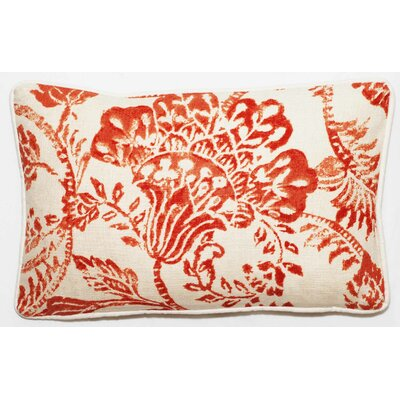 Bal Lumbar Pillow Color: Red Antique