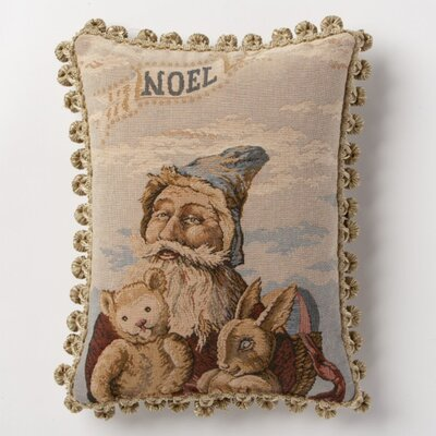 Holiday Whimsy Noel Lumbar Pillow