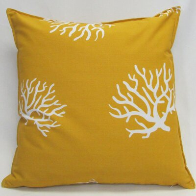 Outdoor Living Throw Pillow (Set of 2) Size: 18 x 18