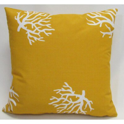 Outdoor Living Throw Pillow (Set of 2) Size: 22 x 22