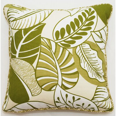 Outdoor Living Nicole Throw Pillow (Set of 2) Size: 25 x 25