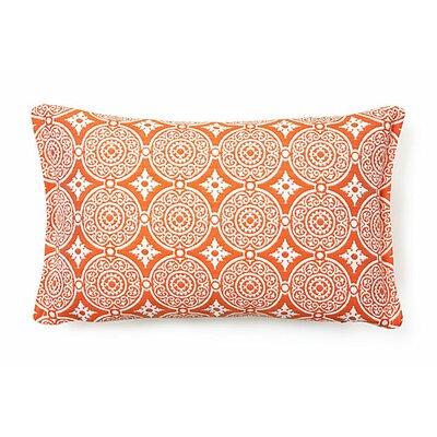 Outdoor Living Lumbar Pillow (Set of 2) Color: Tangerine