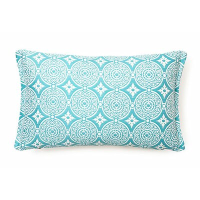 Outdoor Living Lumbar Pillow (Set of 2) Color: Turquoise