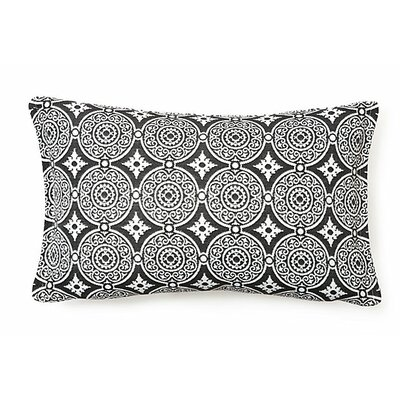 Outdoor Living Lumbar Pillow (Set of 2) Color: Steel
