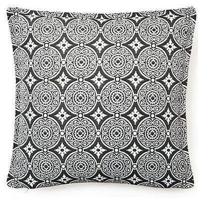 Outdoor Living Throw Pillow (Set of 2) Color: Steel