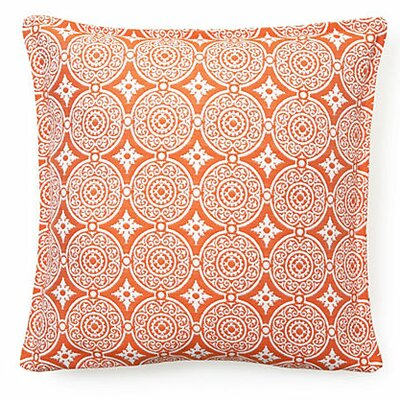 Outdoor Living Throw Pillow (Set of 2) Color: Tangerine
