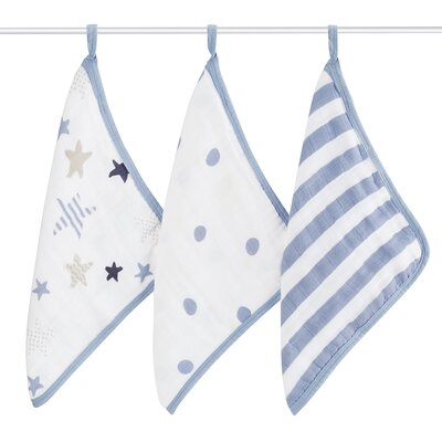 Rock Star 3 Piece Washcloth Set