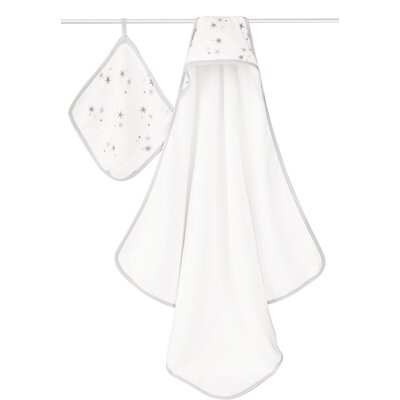 Twinkle Hooded 2 Piece Towel Set
