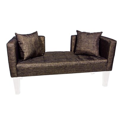 Cote DAzure St. Tropez Loveseat Upholstery: Brown