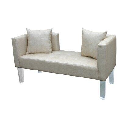 Cote DAzure St. Tropez Loveseat Upholstery: Gold