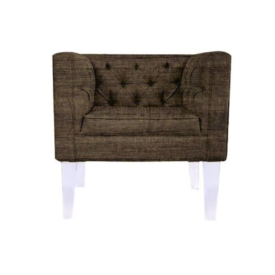 Cote DAzure Provence Barrel Chair Upholstery: Brown