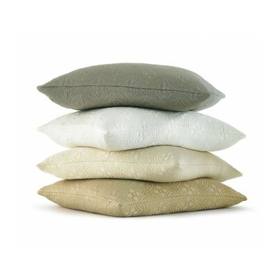 Lucia Throw Pillow Color: Pearl
