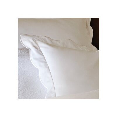 Overture Sham Color: White, Size: King