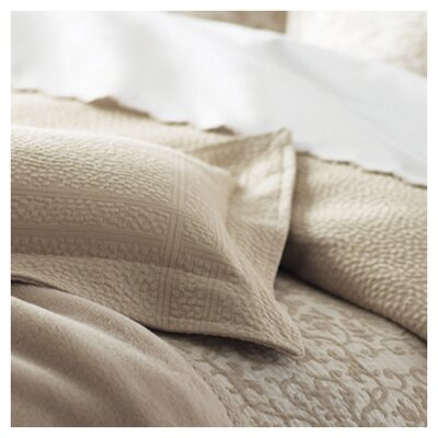 Montauk Coverlet Size: Queen, Color: Pearl