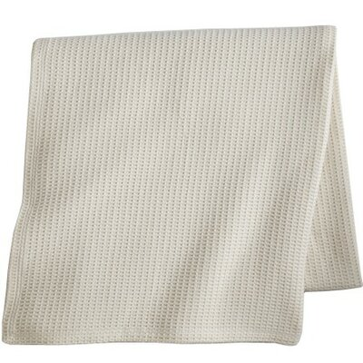 Riviera Egyptian Quality Cotton Blanket Size: Twin, Color: Pearl