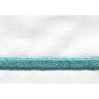 Melody Pillow Case Color: Aqua