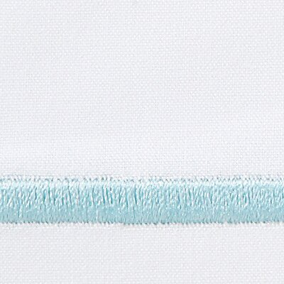 Concerto 420 Thread Count Flat Sheet Size: King, Color: Sea Glass