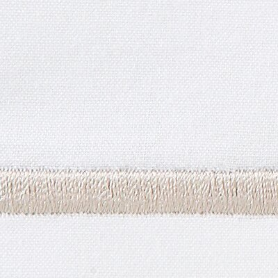 Tempo 420 Thread Count Egyptian Quality Cotton Sheet Set Color: Linen