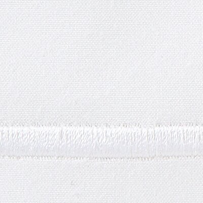 Concerto 420 Thread Count Flat Sheet Size: Queen, Color: White