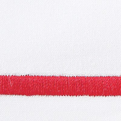 Tempo 420 Thread Count Egyptian Quality Cotton Sheet Set Color: Red