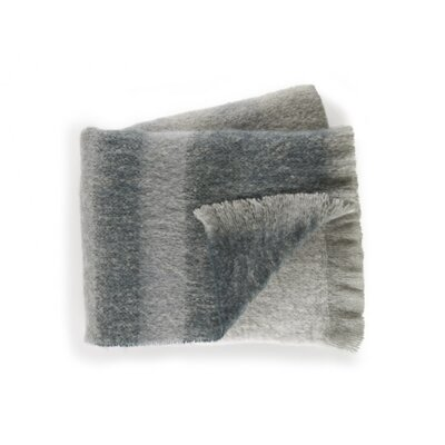 Durban Throw Blanket Color: Graphite