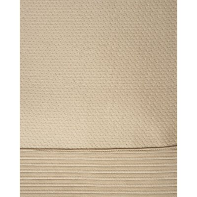 Angelina Bed Skirt Color: Gold, Size: Full