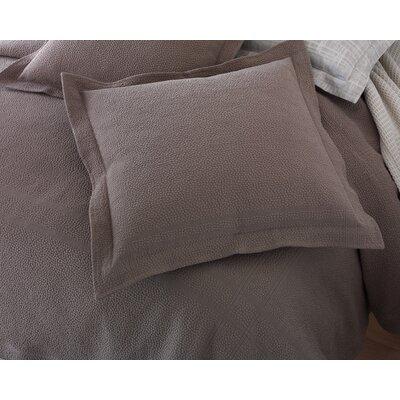 Montauk Sham Color: White, Size: Standard