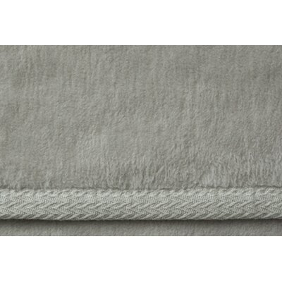 Signature All Seasons Egyptian Quality Cotton Blanket Size: King, Color: Flint