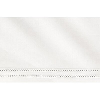 Virtuoso 600 Thread Count Egyptian-Quality Cotton Flat Sheet Size: Queen, Color: White